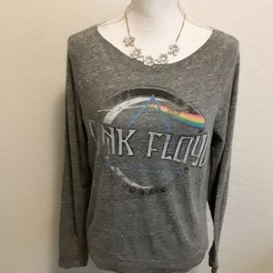 Blue Pink Floyd Top